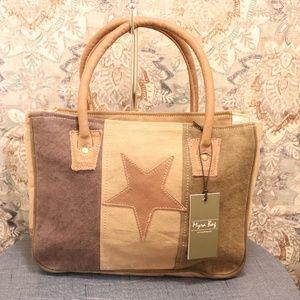 NWT Myra Bag STAR CANVAS Handbag